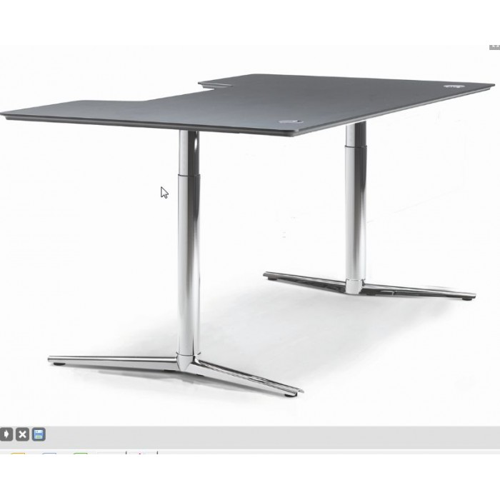 table bureau hauteur variable